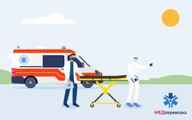 Транспортировка больных после инсульта