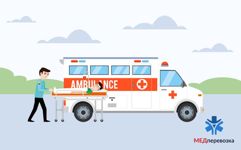 Транспортування лежачих пацієнтів на МРТ