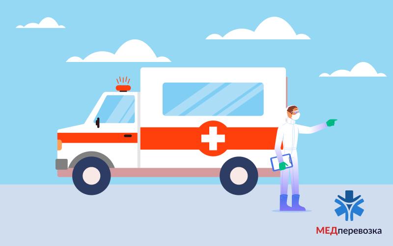 Транспортування пацієнта на швидкій допомозі