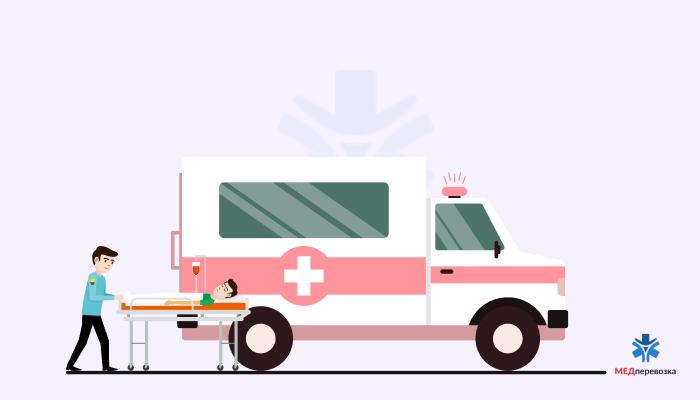 Доставка пациента на нужный этаж