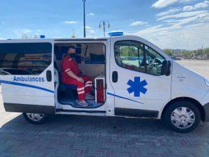 медицинский персонал при перевозке больных
