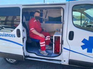 персонал перевозки больных