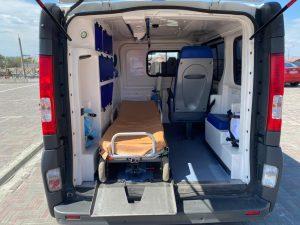 автомобиль для транспортировки больных