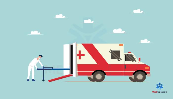 Високий рівень комфорту при транспортуванні лежачих хворих
