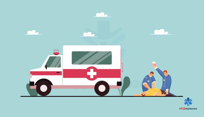 Перевезення лежачих хворого в інше місто